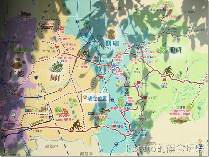 【大潭埤旺萊公園】地圖