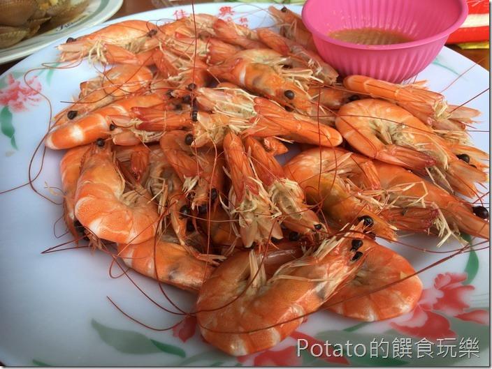 華僑市場鮮蝦1