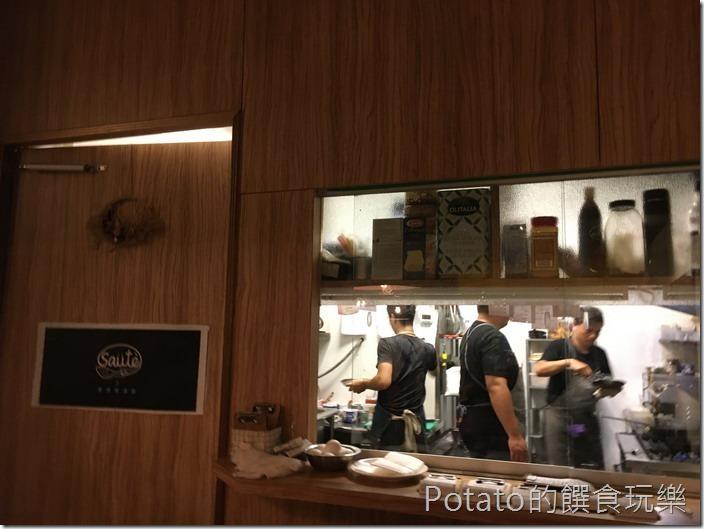 索緹餐酒館料理台
