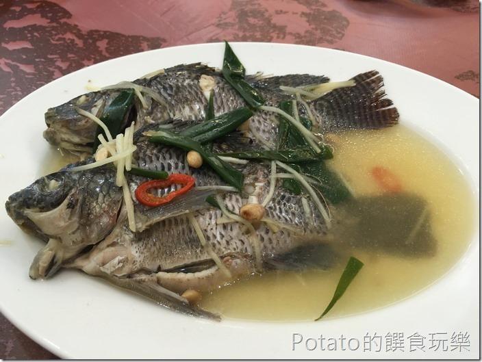土城海產店豆醬吳郭魚
