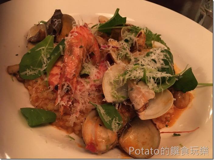 索緹餐酒館鮮蝦燉飯