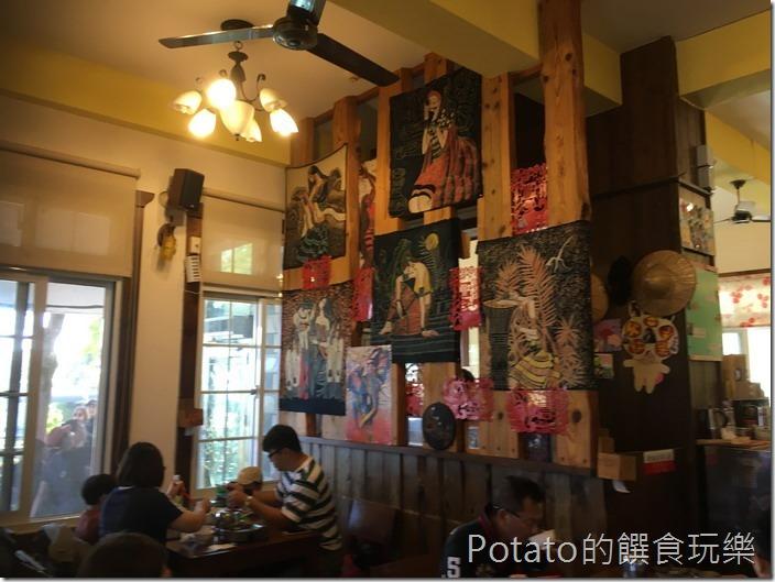 魯媽媽雲南料理餐廳內