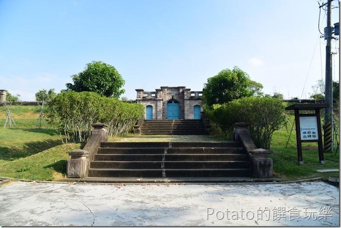 台南水道博物館淨水池區