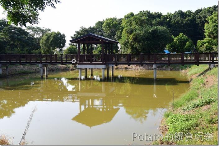 水道博物館淨水池區前