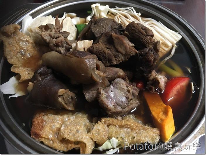 岡山舊市羊肉火鍋1