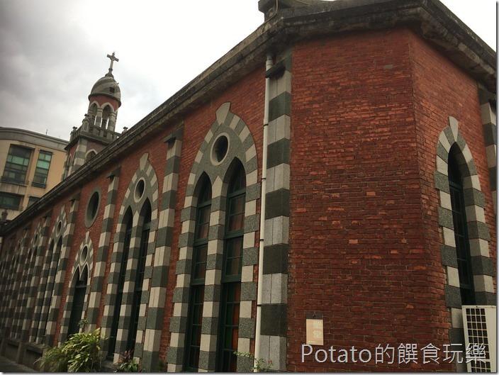 新竹桂花園餐廳附近的天主堂1