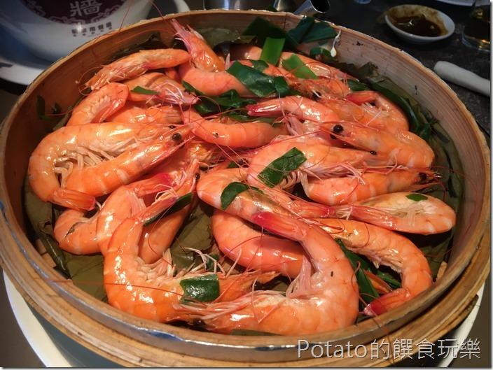 新東南海鮮餐廳蒸沙蝦
