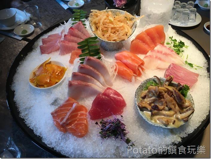 新東南海鮮餐廳生魚片
