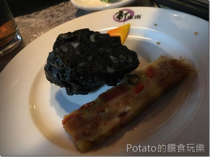 新東南海鮮餐廳墨魚香腸
