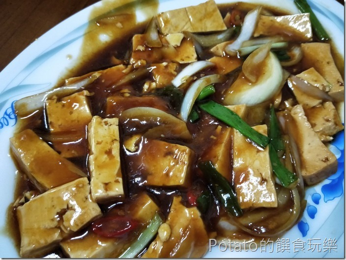 名蘭飯店紅燒豆腐