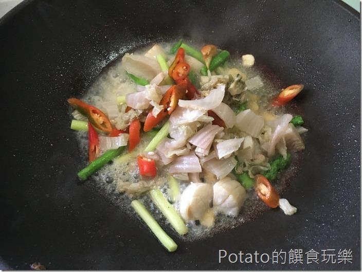 干貝炒蘆筍4