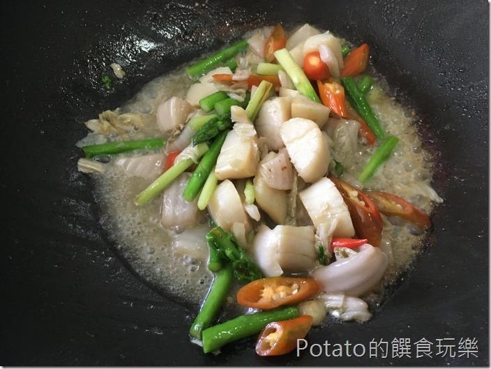 干貝炒蘆筍5