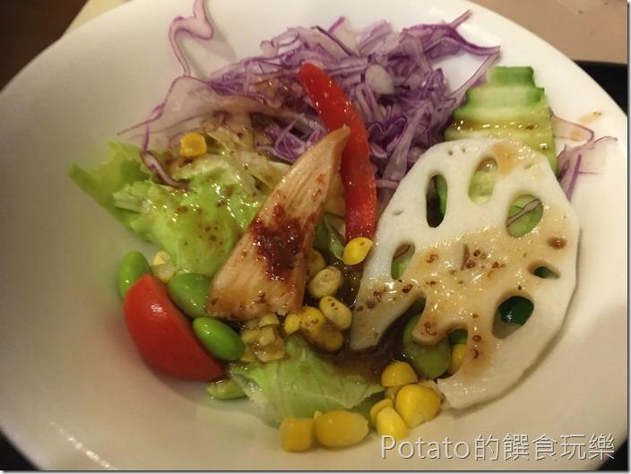 洋蔥咖哩工坊沙拉