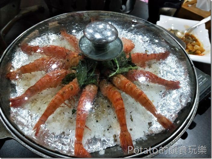 日月潭阿豐師餐廳海尼根蝦
