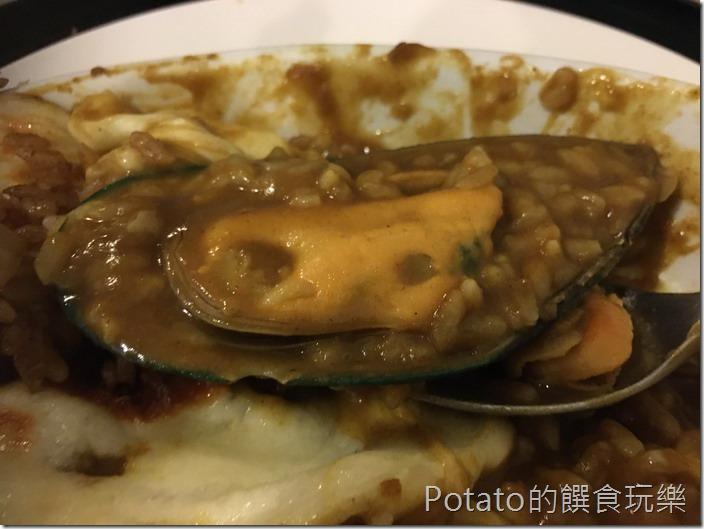 洋蔥咖哩工坊淡菜
