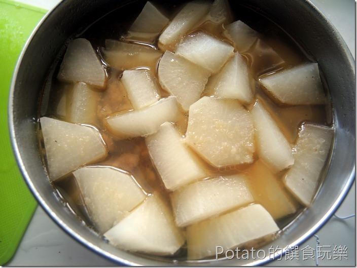 排骨酥湯完成