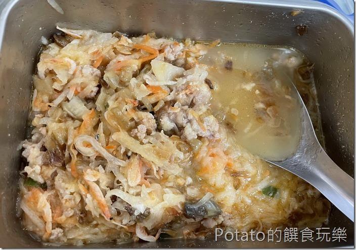 蘿蔔絲餅食材