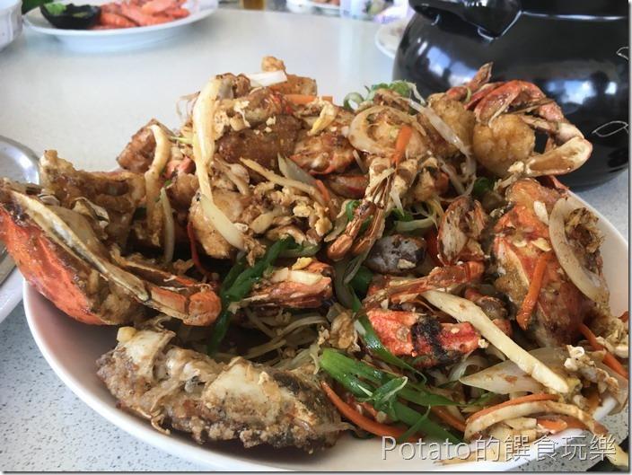 正宗媽煮妙小吃酥炸螃蟹