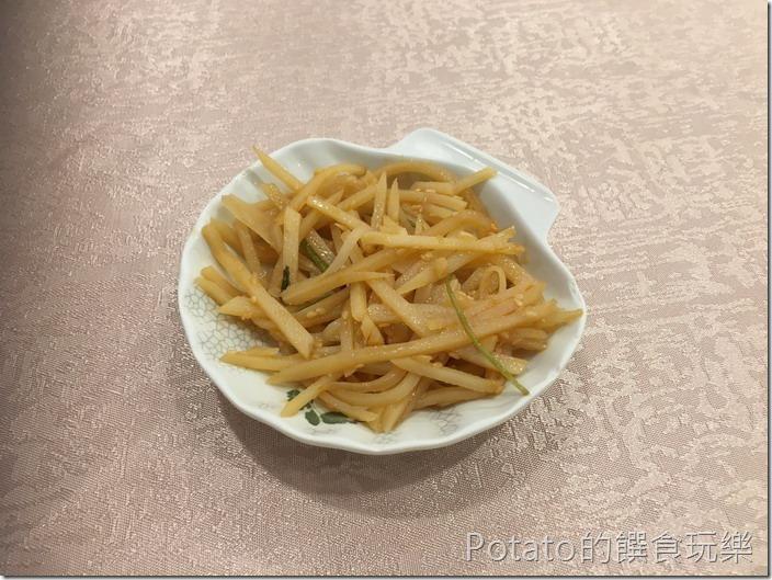 如意樓餐廳小菜土豆絲
