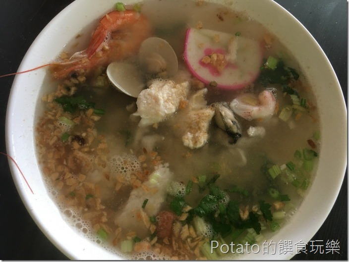 阿美螃蟹粥海產粥1