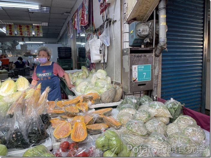 東菜市青菜攤1
