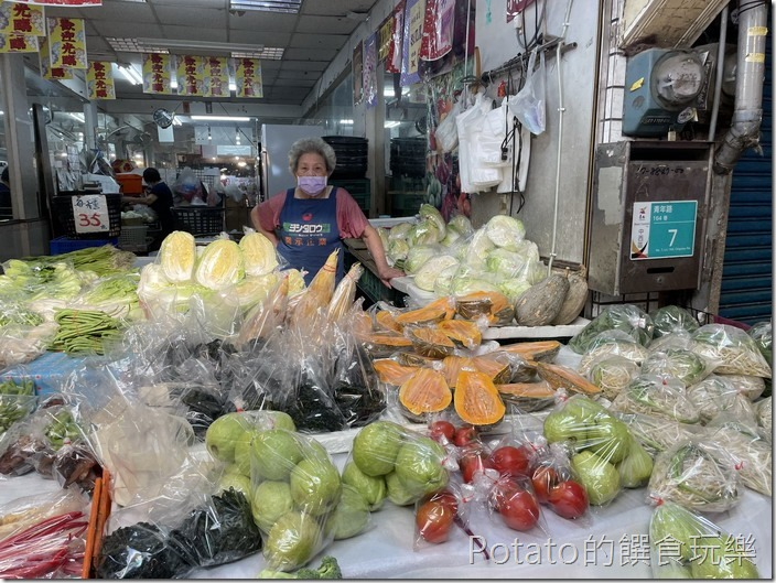 東菜市青菜攤2