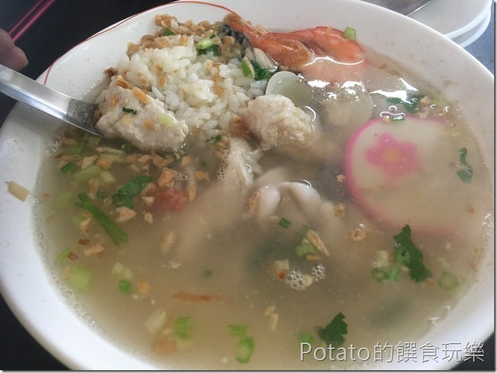 阿美螃蟹粥海產粥