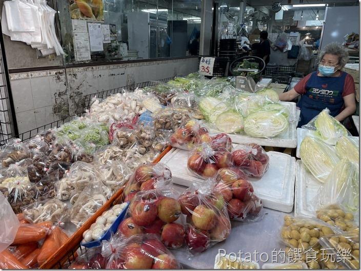 東菜市青菜攤5