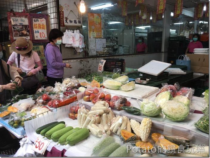 東菜市青菜攤7