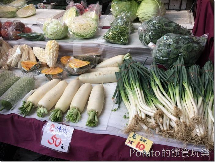 東菜市青菜攤8