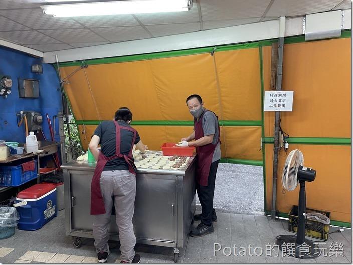 福州香胡椒餅現場製作1