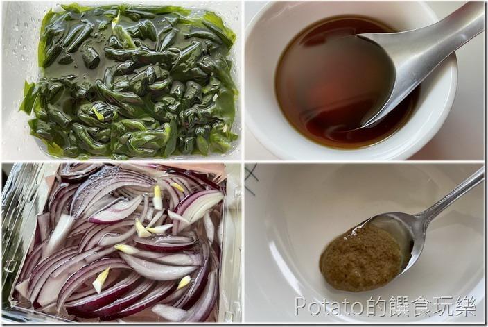 海帶芽涼拌菜11