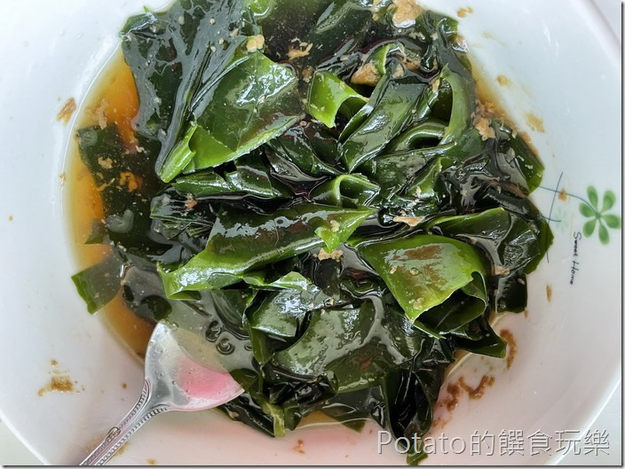 海帶芽涼拌菜2