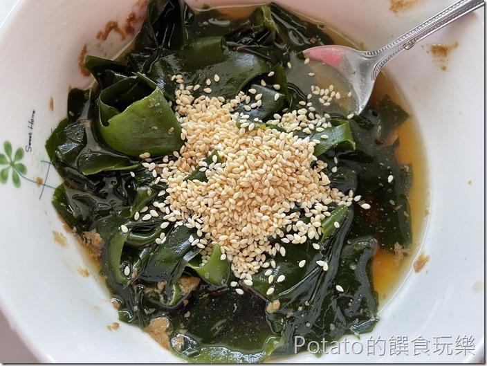 海帶芽涼拌菜4