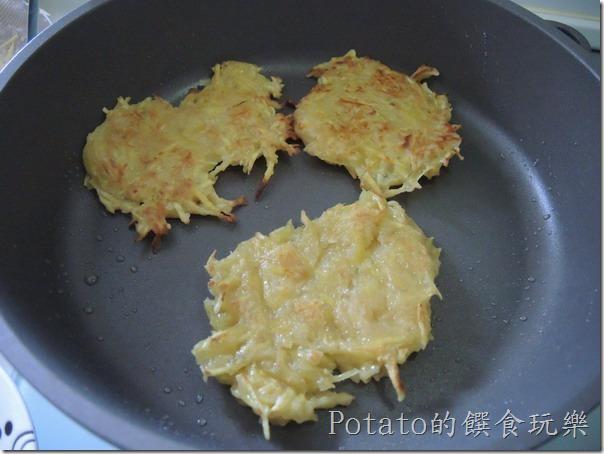 美味的地瓜煎餅--雙面金黃
