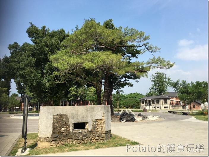 台南水道博物館圓環