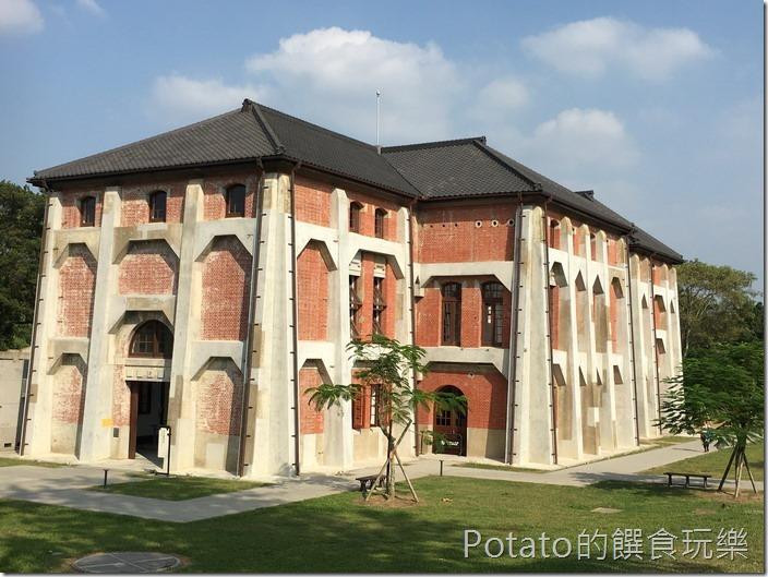 台南水道博物館送出唧筒室