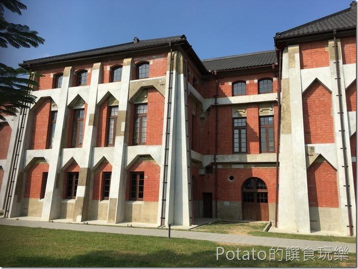 台南水道博物館送出唧筒室2