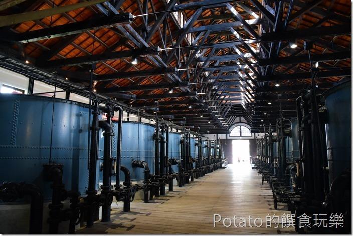 台南水道博物館快濾筒室22