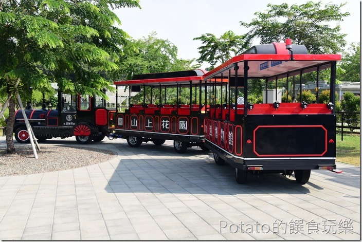 台南水道博物館火車
