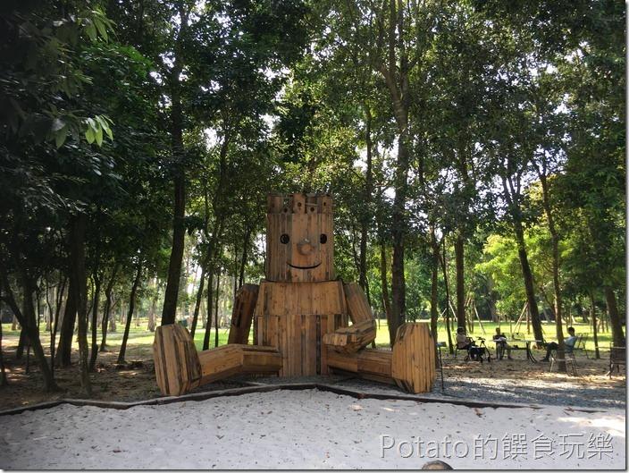 台南水道博物館森林裡的水道工程師