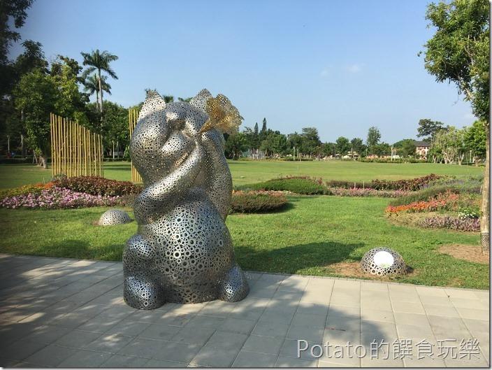 台南水道博物館裝置藝術